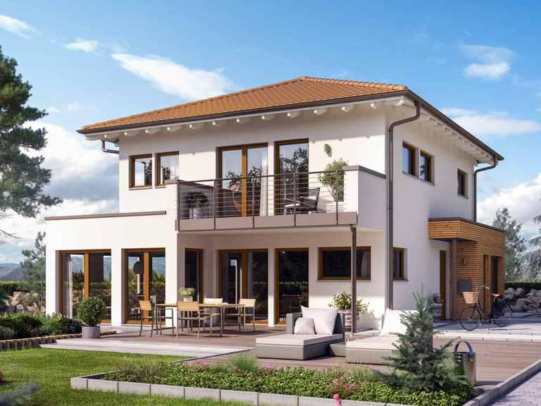 Einfamilienhaus SUNSHINE 144 V6 - Living Haus