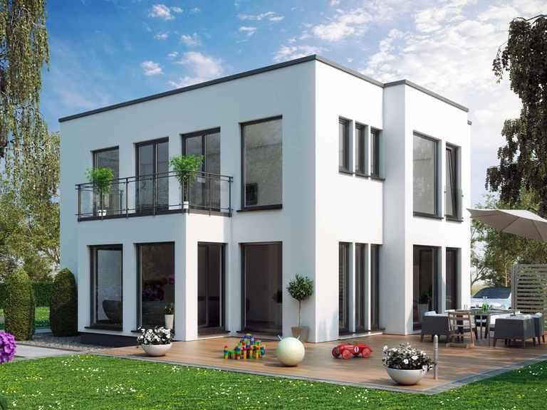 Einfamilienhaus SUNSHINE 144 V7 - Living Haus