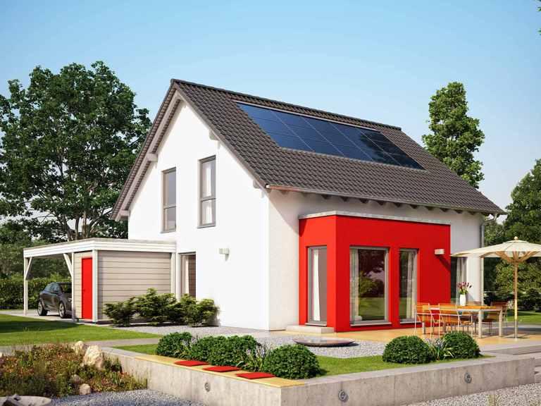 Einfamilienhaus SUNSHINE 151 V2 - Living Haus