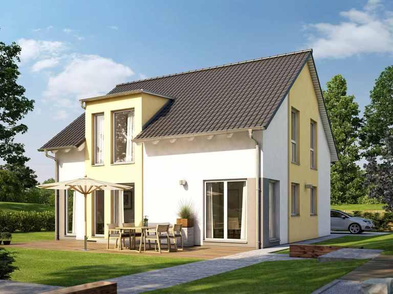 Einfamilienhaus SUNSHINE 151 V3 - Living Haus
