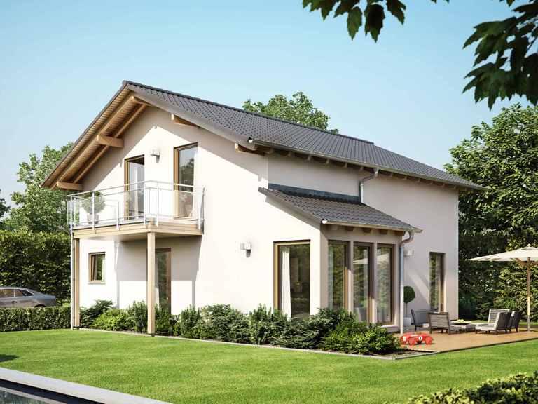 Einfamilienhaus SUNSHINE 151 V4 - Living Haus