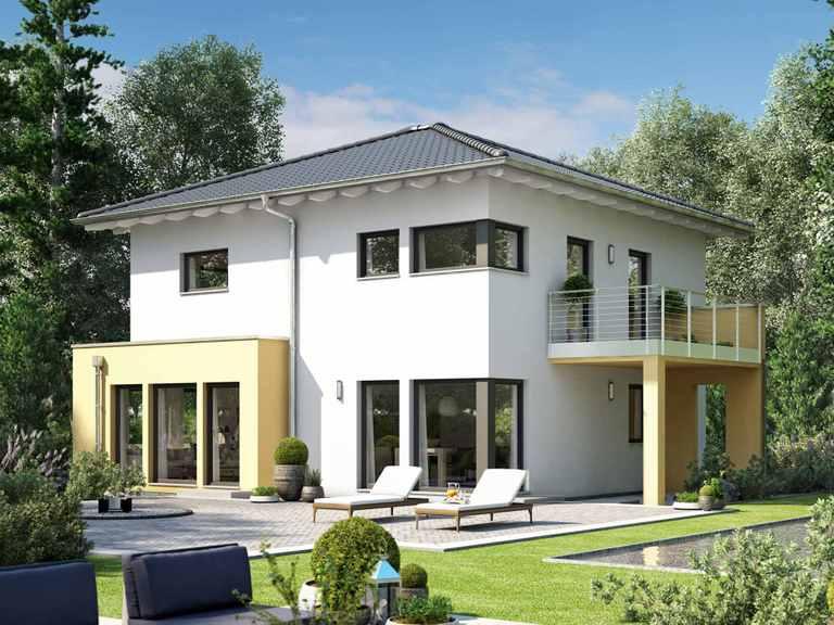 Einfamilienhaus SUNSHINE 151 V7 - Living Haus