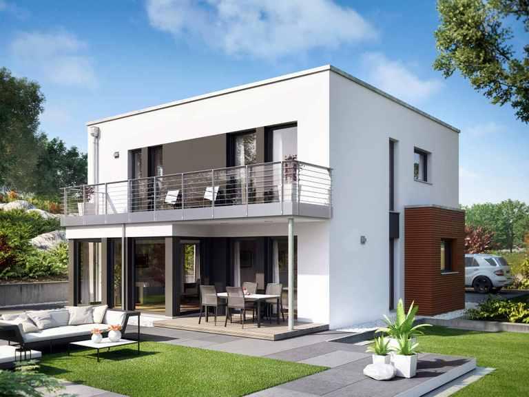 Einfamilienhaus SUNSHINE 151 V8 - Living Haus
