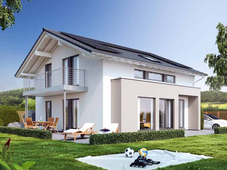 Einfamilienhaus SUNSHINE 154 V4 - Living Haus