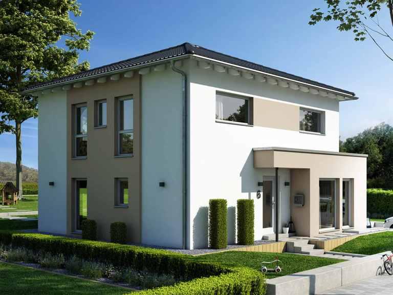 Einfamilienhaus SUNSHINE 154 V6 - Living Haus
