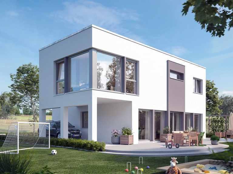 Einfamilienhaus SUNSHINE 154 V7 - Living Haus