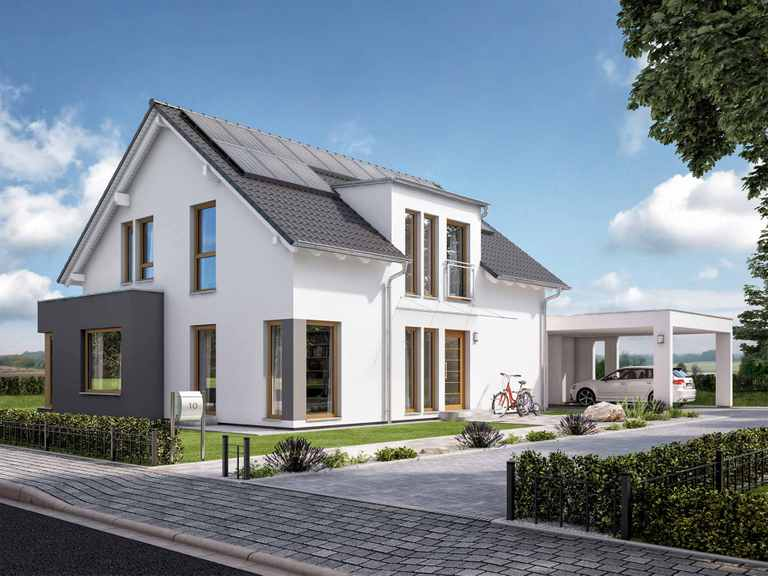 Einfamilienhaus SUNSHINE 165 V2 - Living Haus