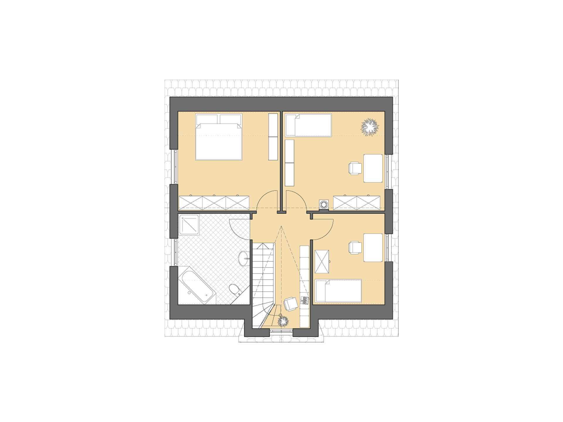 Turmhaus 152 Grundriss Dachgeschoss