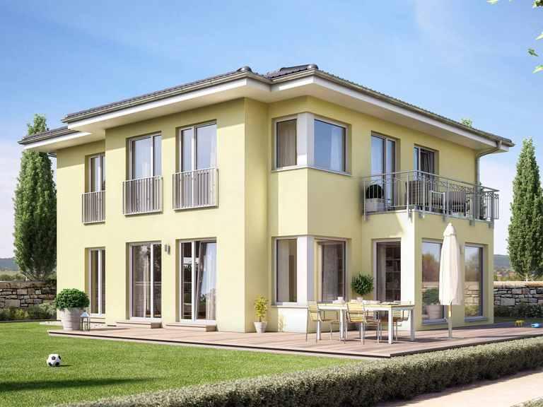 Einfamilienhaus SUNSHINE 165 V6 - Living Haus
