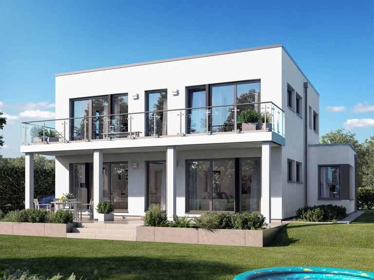 Einfamilienhaus SUNSHINE 165 V7 - Living Haus