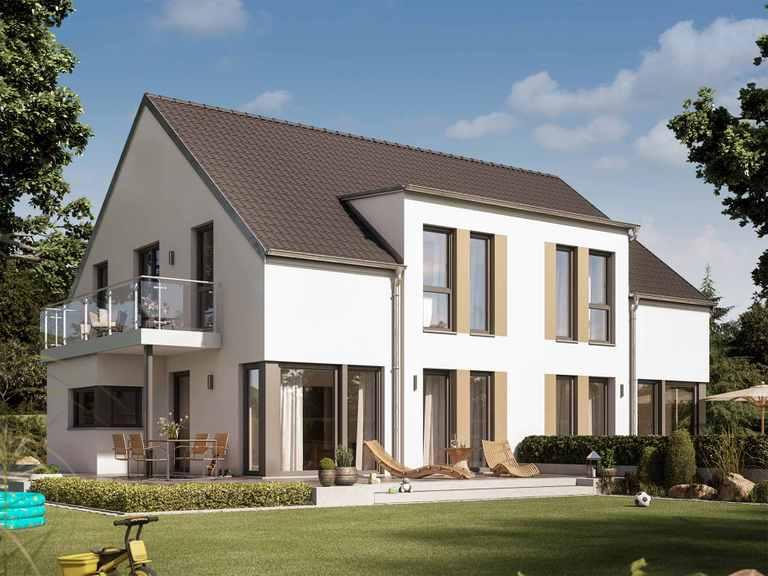 Zweifamilienhaus SOLUTION 242 V2 - Living Haus