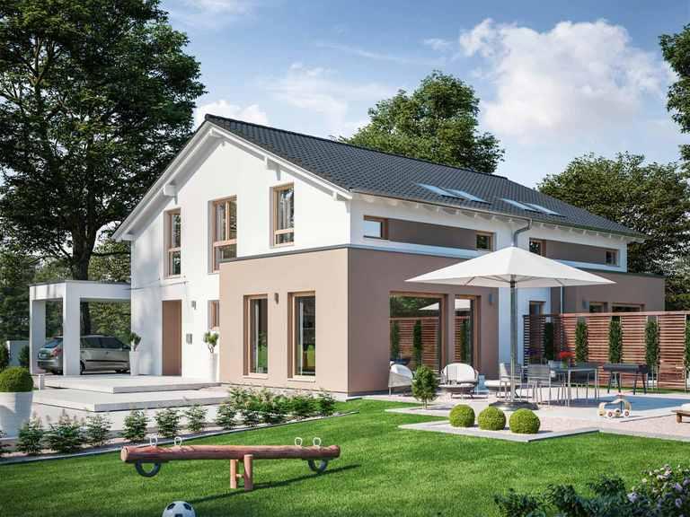 Zweifamilienhaus SOLUTION 242 V5 - Living Haus