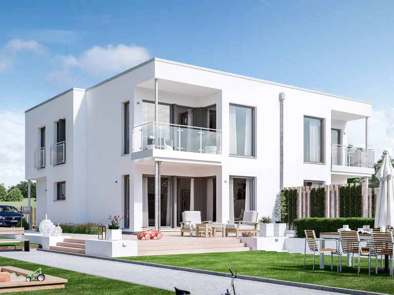 Zweifamilienhaus SOLUTION 242 V7 - Living Haus