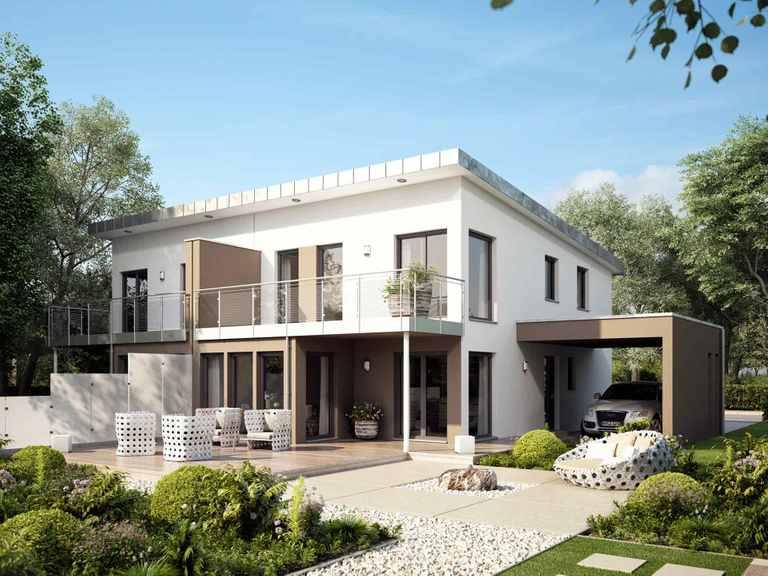 Doppelhaus SOLUTION 126 L V4 - Living Haus