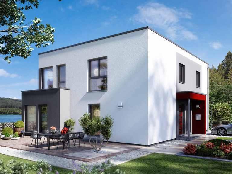 Zweifamilienhaus SOLUTION 204 V9 L - Living Haus