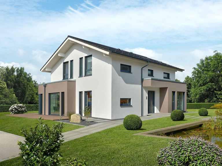 Musterhaus SUNSHINE 144 Poing - Living Haus