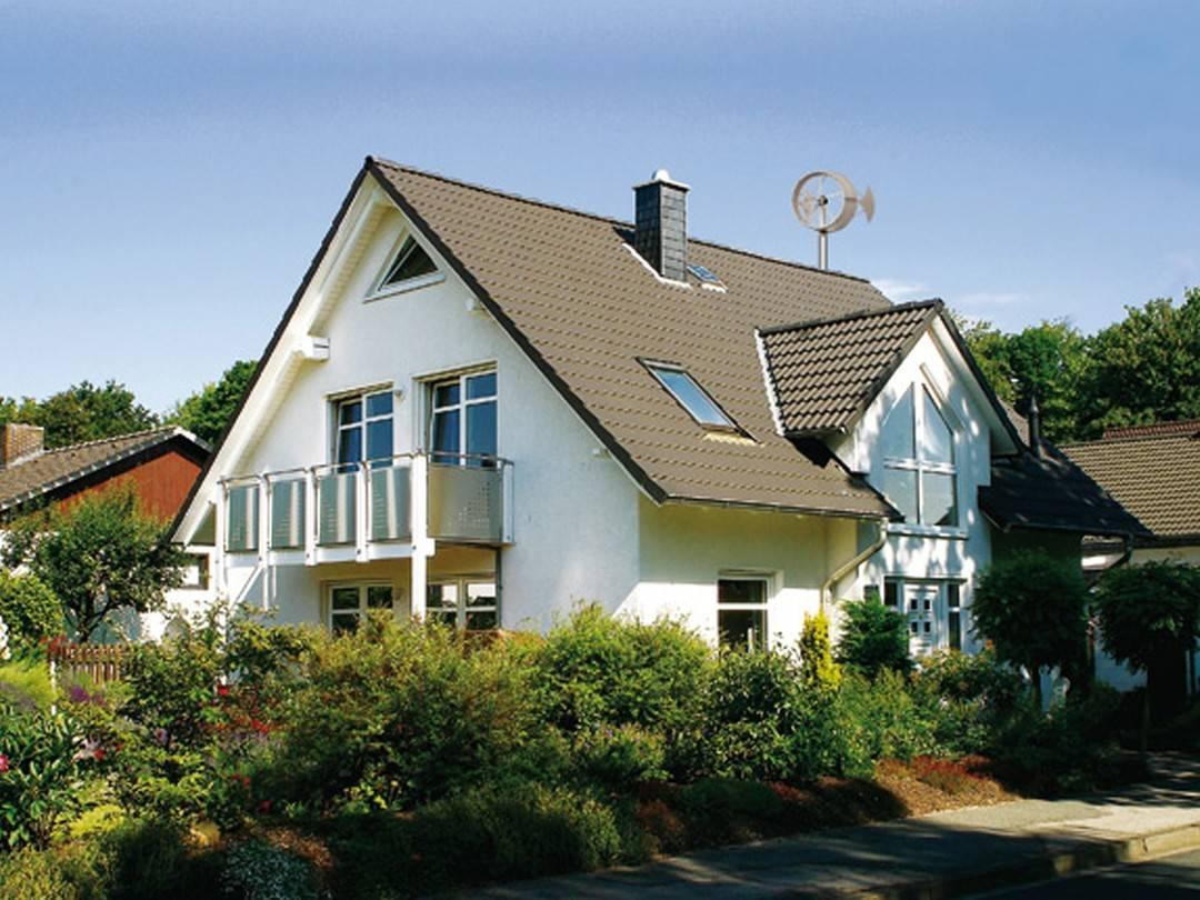 Satteldachhaus Contrada als Null-Liter-Haus.