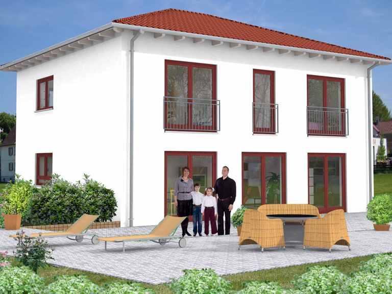 Stadtvilla Bendorf 50-015 - Econ Haus