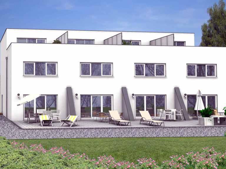 Doppelhaushälfte Zimmerscheid 100-034 - Econ Haus