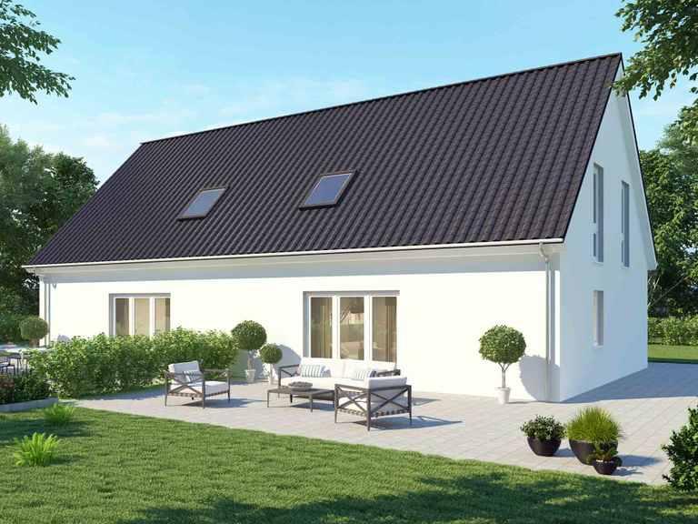Doppelhaus 110 Basis - BAUDIREKT
