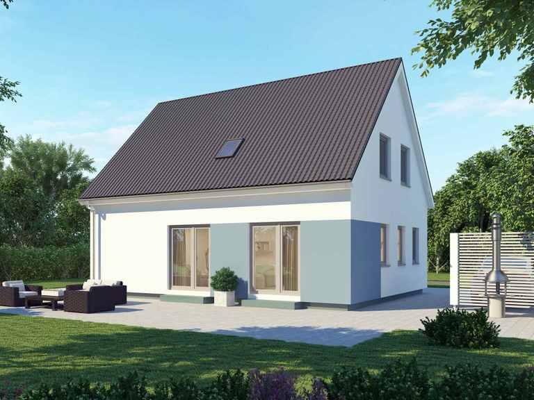 Einfamilienhaus 125 Basis - BAUDIREKT