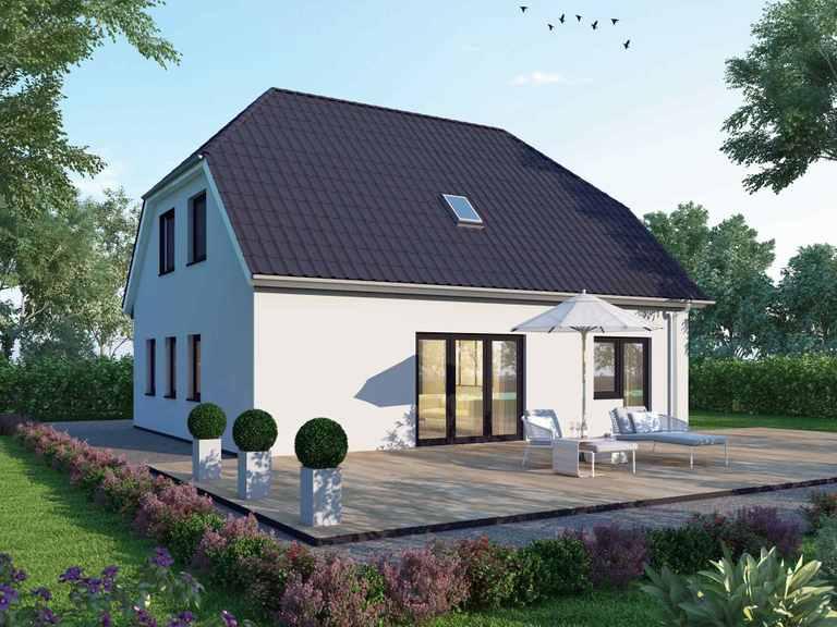 Einfamilienhaus 140 Basis - BAUDIREKT