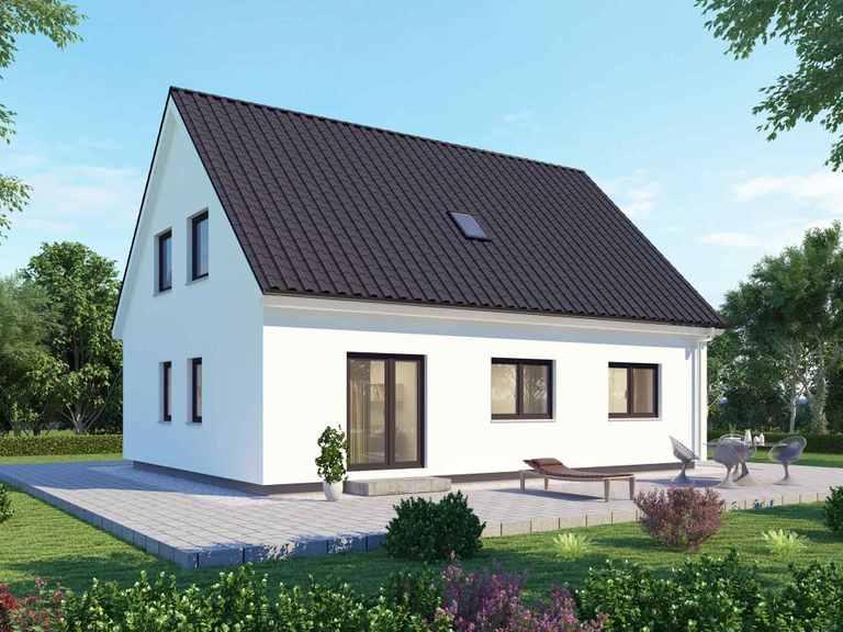 Einfamilienhaus 155 Basis - BAUDIREKT