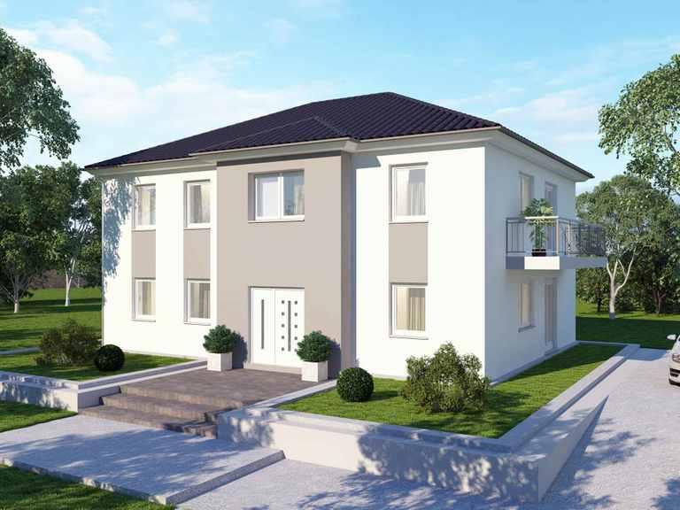 Zweifamilienhaus 185 Basis - BAUDIREKT