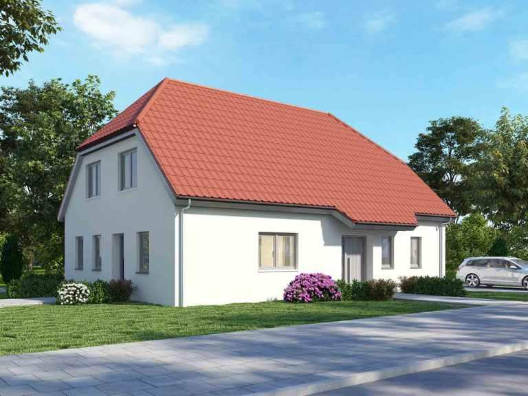 Zweifamilienhaus 200 Basis - BAUDIREKT