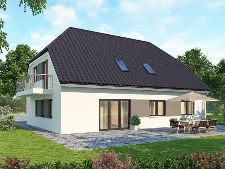 Zweifamilienhaus 210 Basis - BAUDIREKT