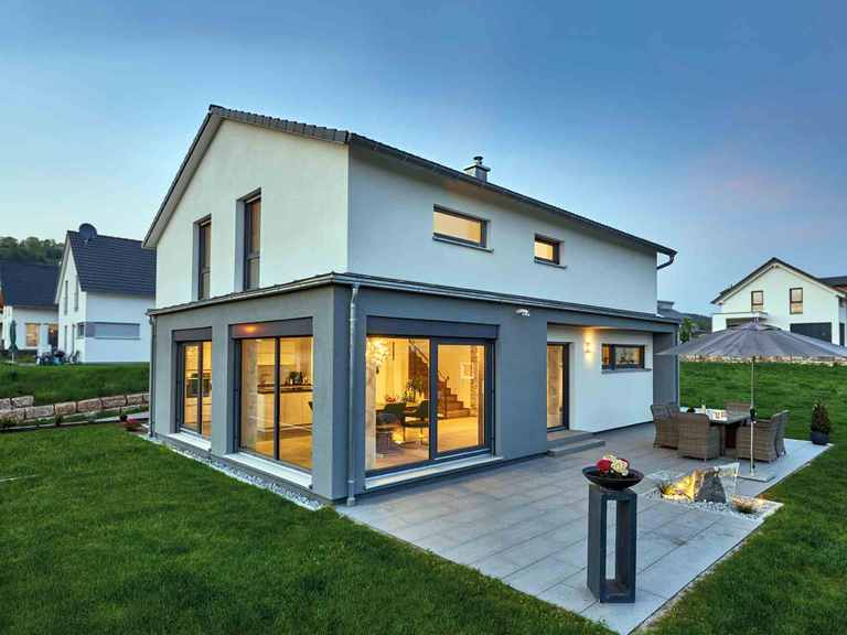 Einfamilienhaus Elsa - Fertighaus WEISS