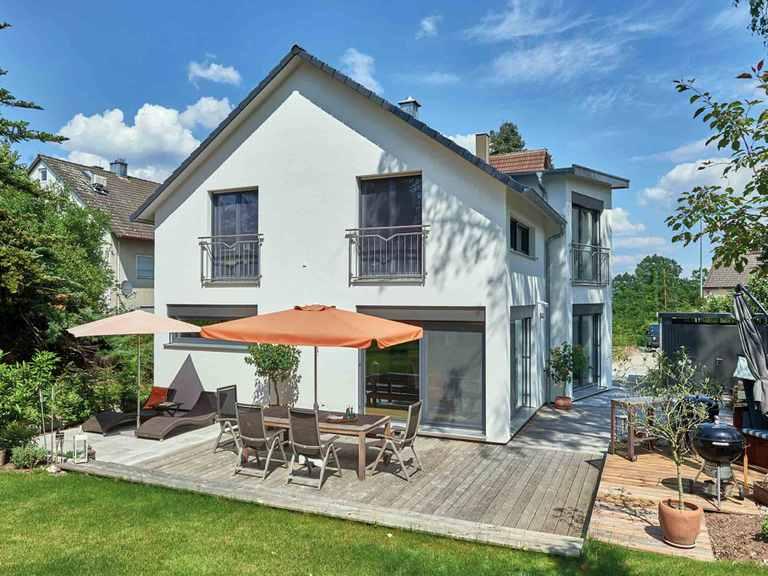 Einfamilienhaus Seidel - Fertighaus WEISS