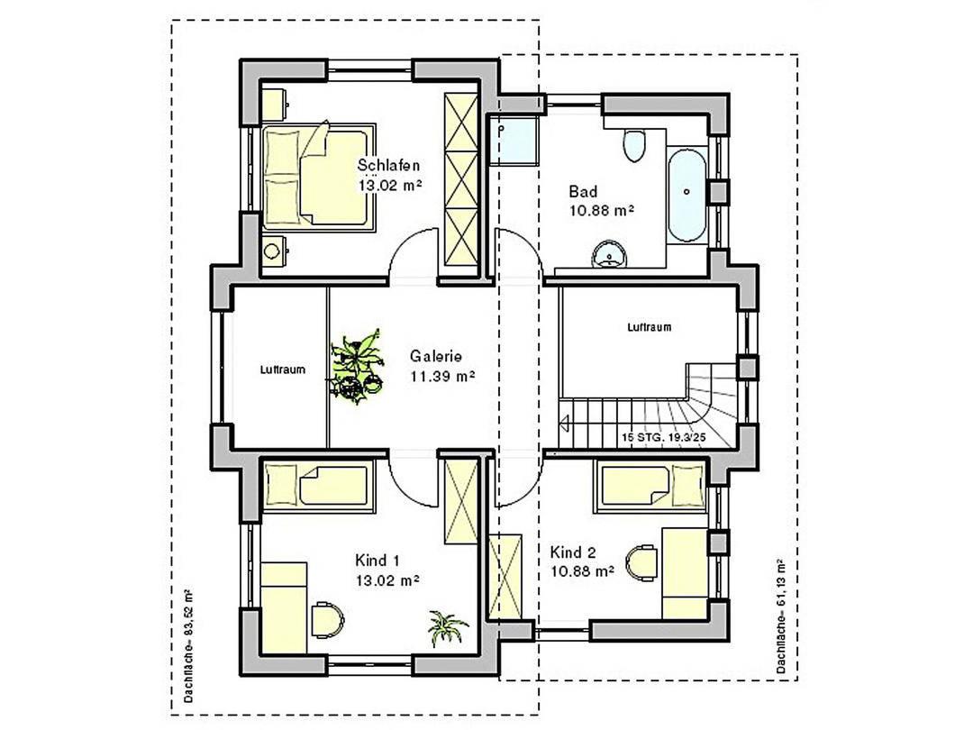 Haus Böblingen Grundriss Dachgeschoss