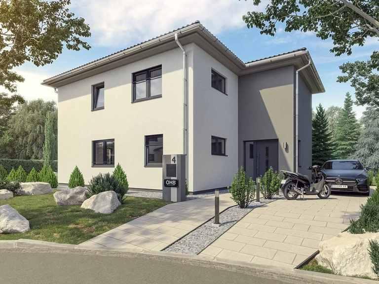 Stadtvilla Rudolstadt - OHB-Hausbau Gruppe