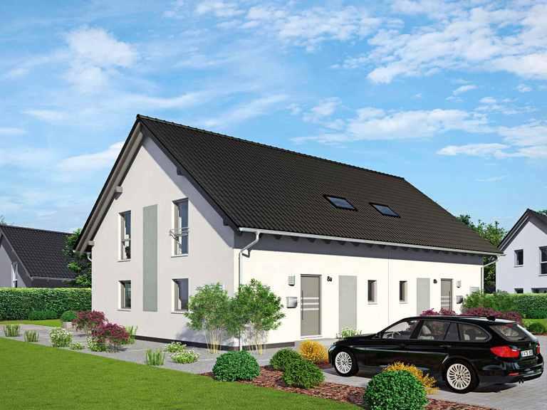 Doppelhaus Duett 141 - Fingerhut Haus