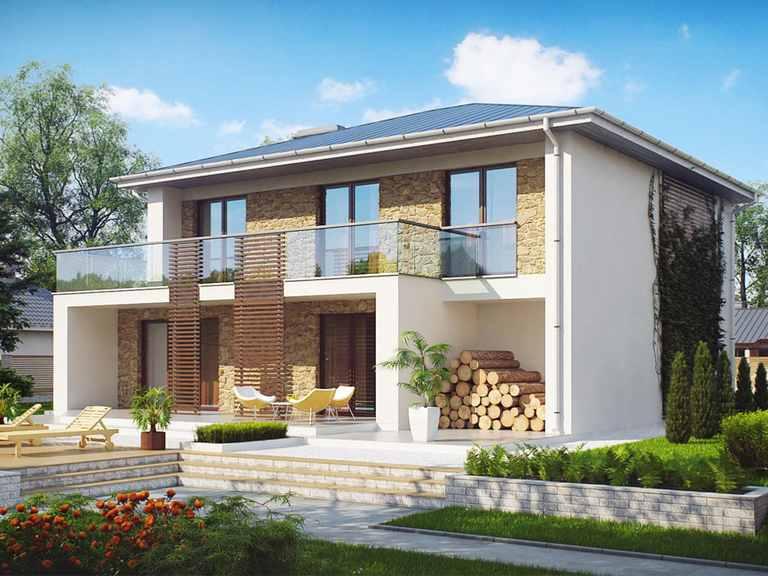 Stadtvilla Zx55 2m mit Einliegerwohnung
