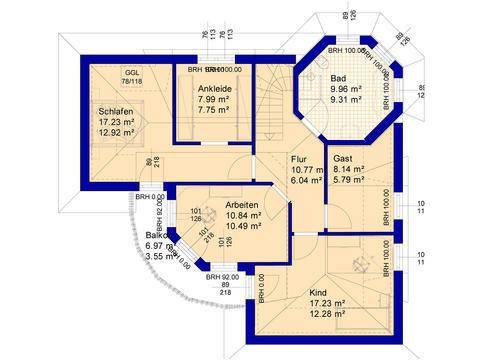 Haus E170 Grundriss Erdgeschoss