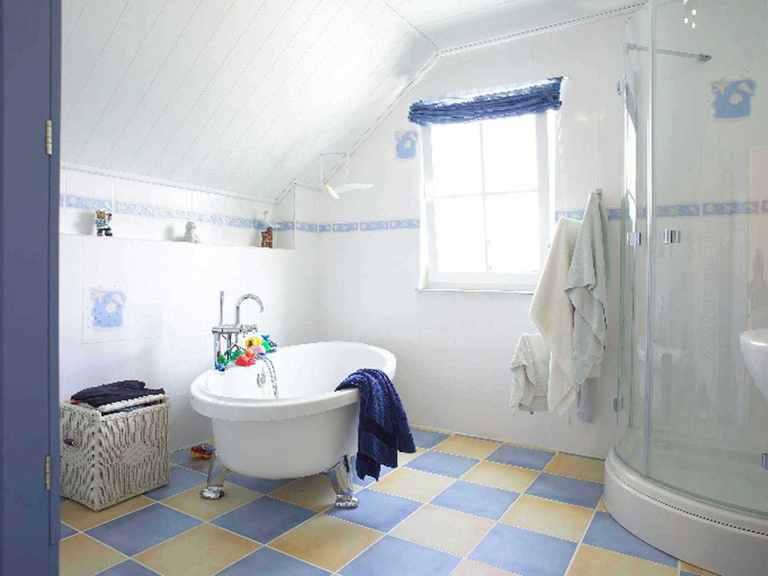 Haus Schwedenstil - WOLF System Haus Badezimmer