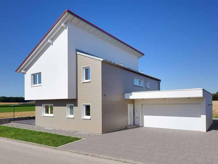 Pultdachhaus Sonnenfeld - Keitel Haus