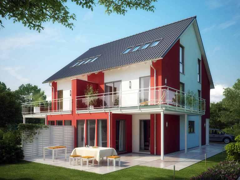 Doppelhaus CELEBRATION 114 V3 XL - Bien Zenker