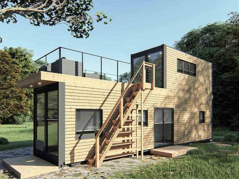 Modulhaus Smart Living Project L - WHITEROCK