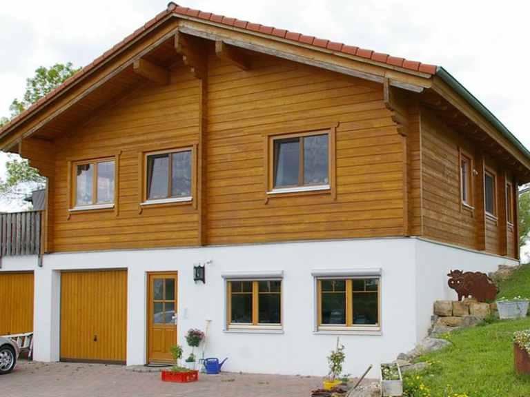 Haus Eschach - Holzhaus Rosskopf