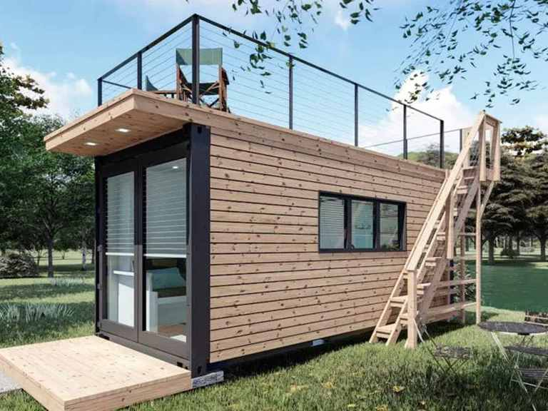 Modulhaus Smart Living Project S - WHITEROCK