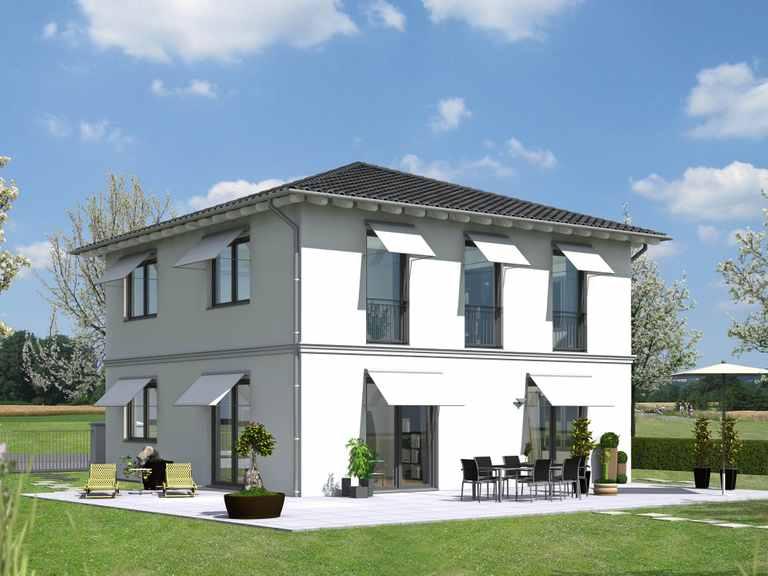 Stadtvilla TOP - LINE 01 - Schneider Massivhaus
