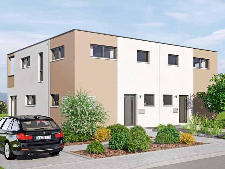 Kubus Haus Duett 129 - Fingerhut Haus
