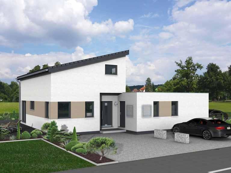 Pultdachhaus Junto 168 - Fingerhut Haus