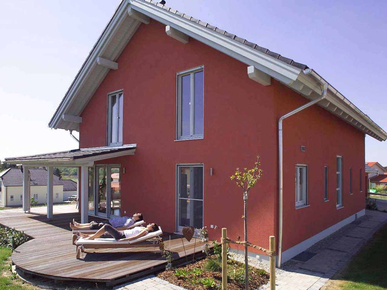 Individuell geplantes Kundenhaus - WOLF System Haus