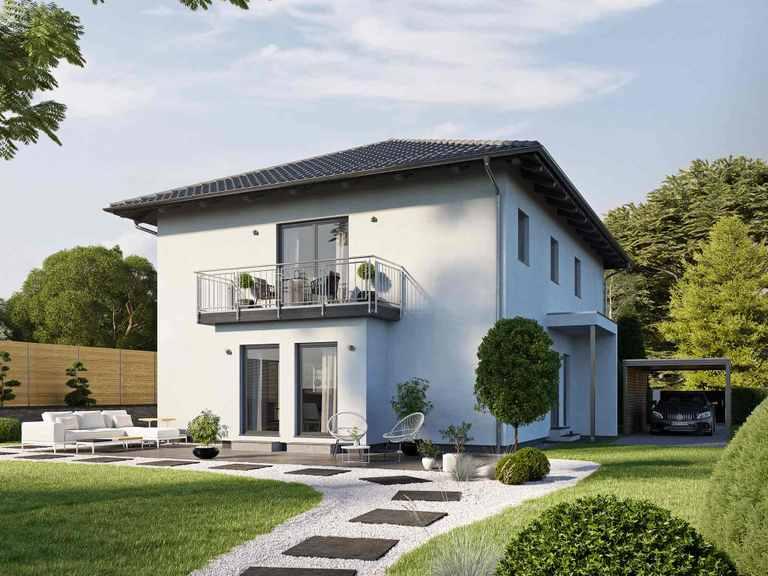 Mehrfamilienhaus LUMIS 180 W - FingerHaus