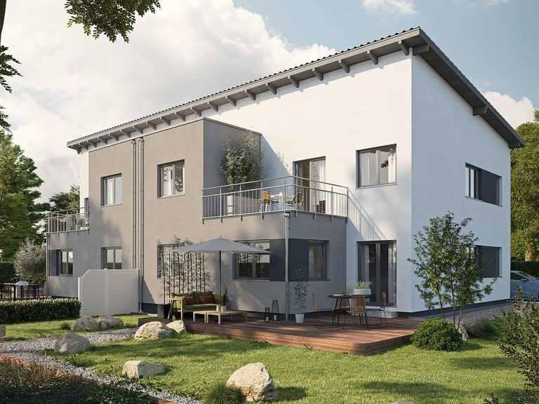 Doppelhaus LUMIS 300 P - FingerHaus