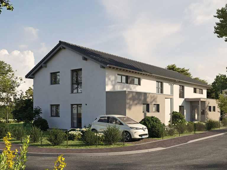 Doppelhaus LUMIS 350 S215 - FingerHaus